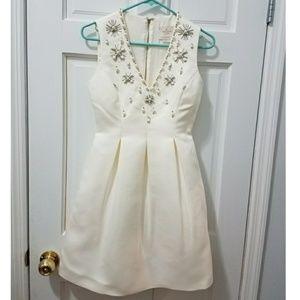 Kate Spade v-neck white dress